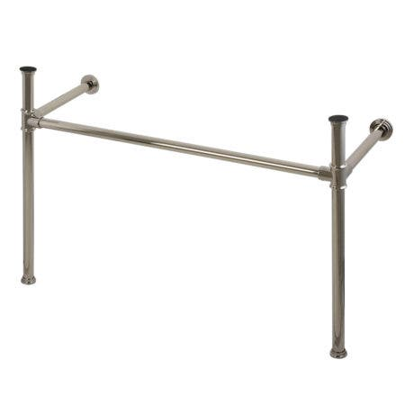 Kingston Brass VPB14886 Imperial Stainless Steel Console Legs, Polished Nickel