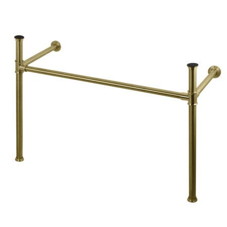Kingston Brass VPB14887 Imperial Stainless Steel Console Legs, Brushed Brass