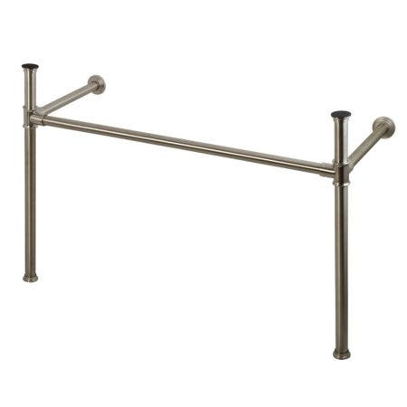 Kingston Brass VPB14888 Imperial Stainless Steel Console Legs, Brushed Nickel