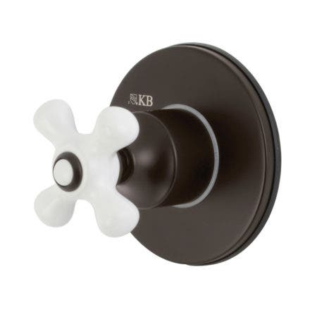 Kingston Brass KS3035PX Tub and Shower Faucets, Oil Rubbed Bronze
