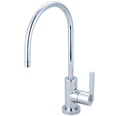Kingston Brass KS8191CTL Continental Single-Handle Water Filtration Faucet, Polished Chrome