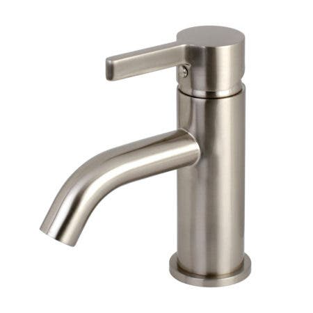 Fauceture LS8228CTL Continental Single-Handle Bathroom Faucet, Brushed Nickel