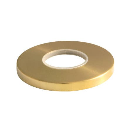 Kingston Brass KSE3037 Escutcheon Plate, Brushed Brass