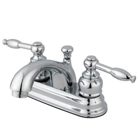 Kingston Brass FB2601KL 4 in. Centerset Bathroom Faucet, Polished Chrome