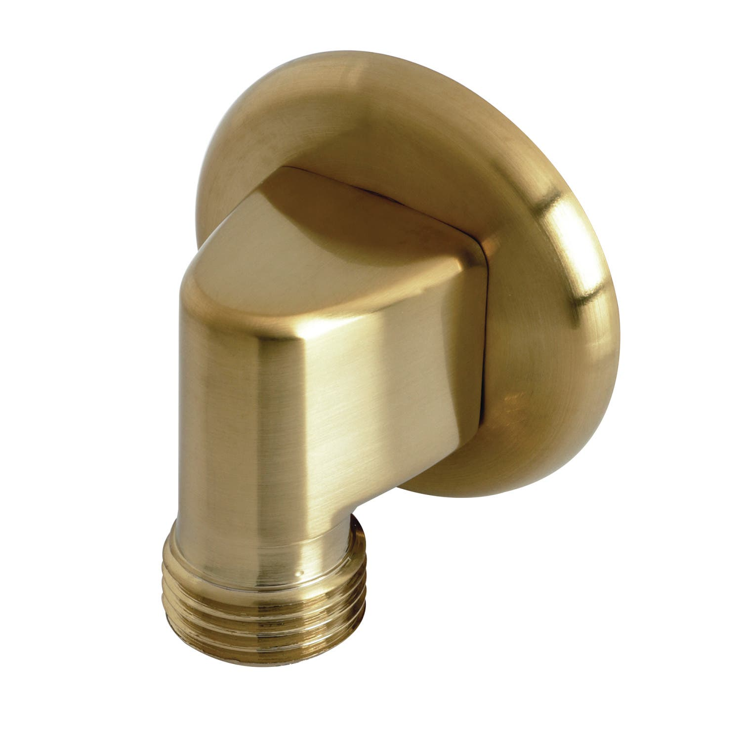 Kingston Brass K173A7 Wall Mount Water Supply Elbow, Brushed Brass