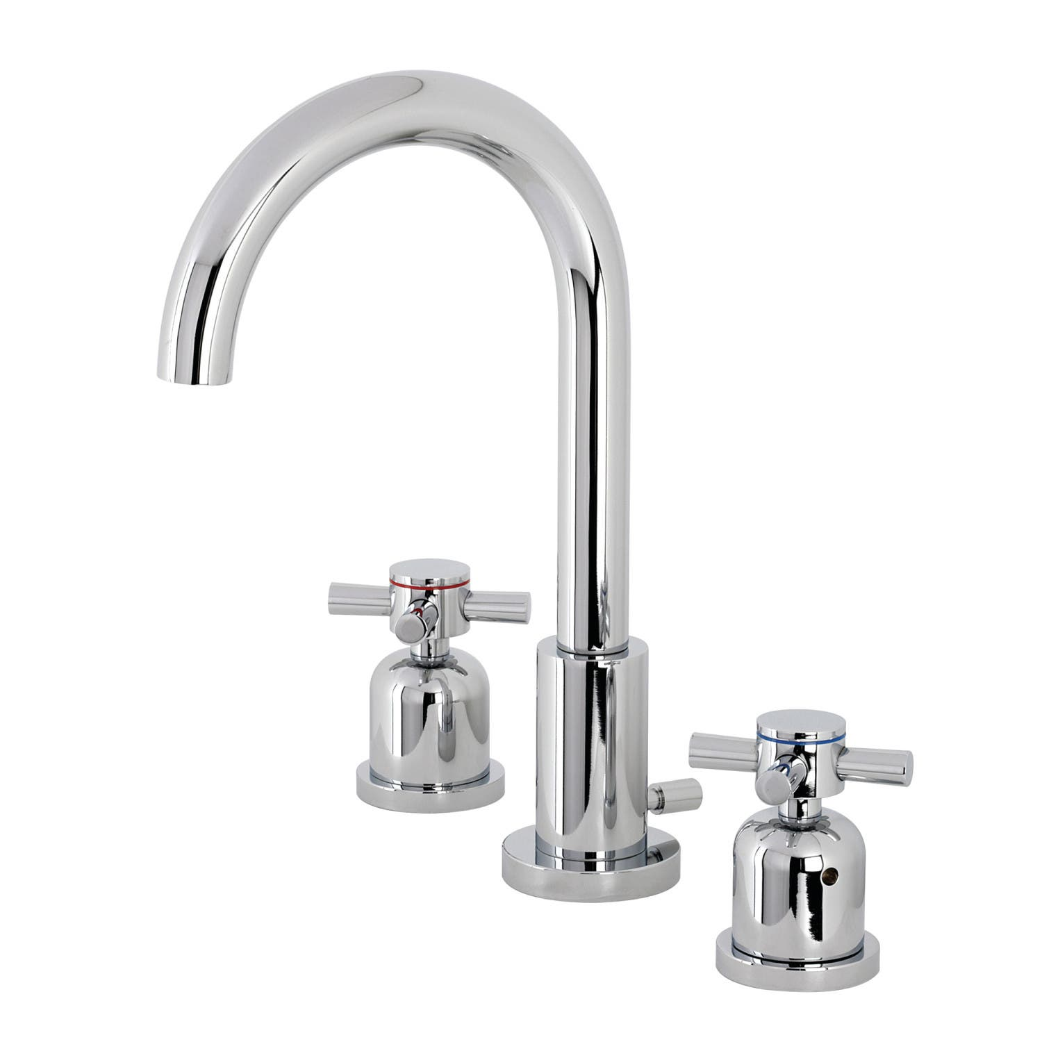 Fauceture Fsc8921dx Concord Widespread Bathroom Faucet Polished Chrome Kingston Brass