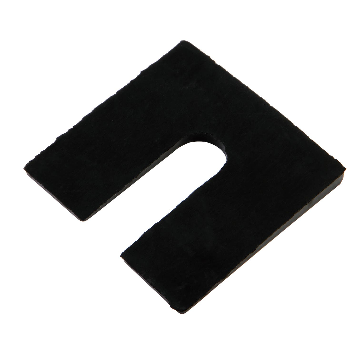 Kingston Brass VCTZHDWRSH Rubber Shim Slant Washer for Tub Feet, Black