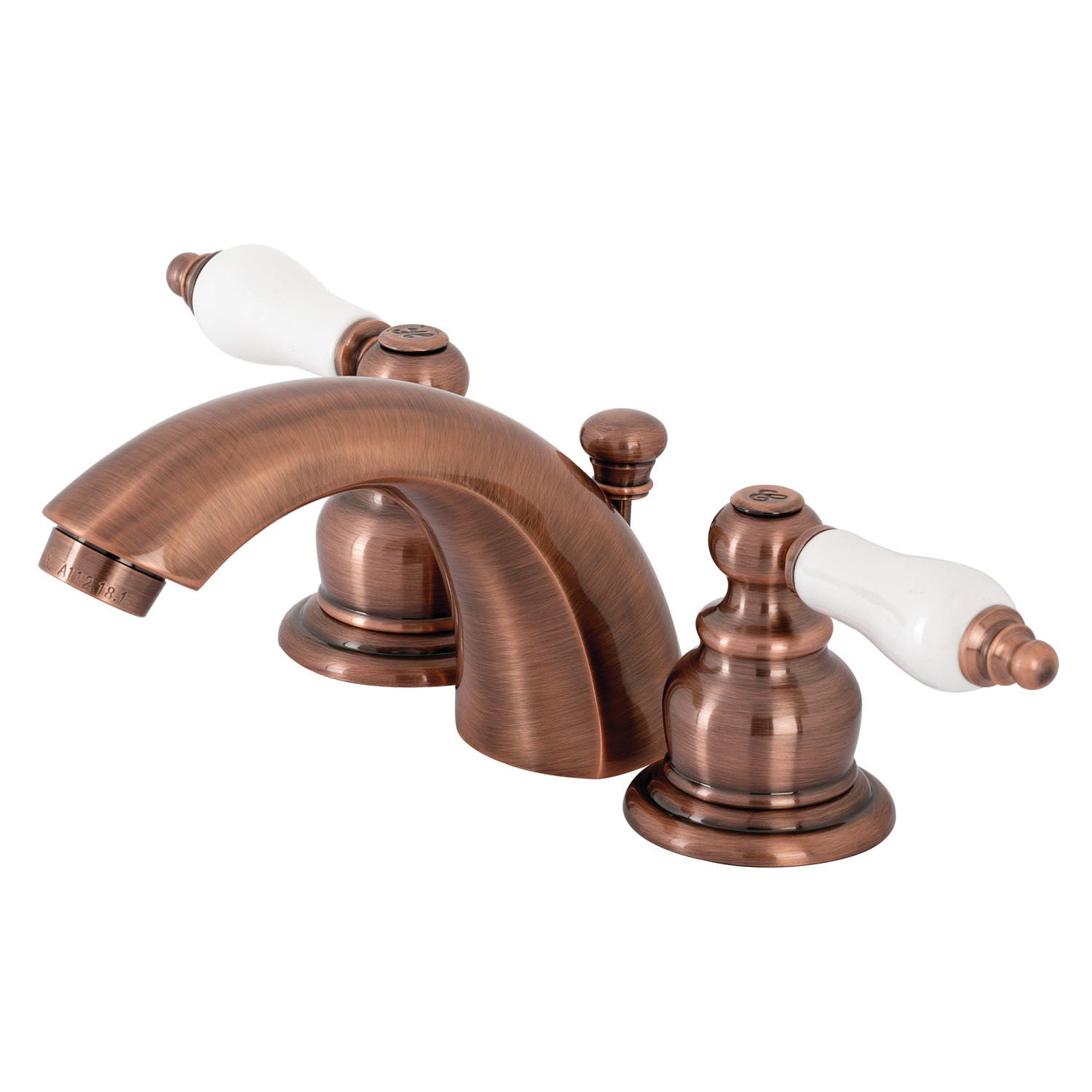Copper Bathroom Faucet Image Of