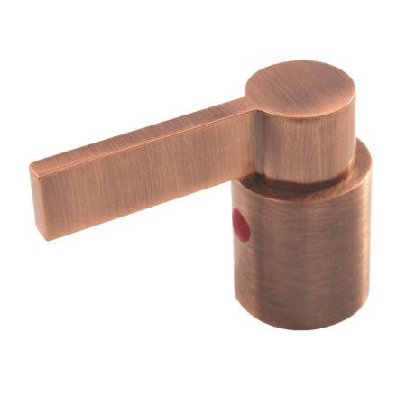 Kingston Brass KBH866NDLACH NuvoFusion Hot Metal Lever Handle, Antique Copper