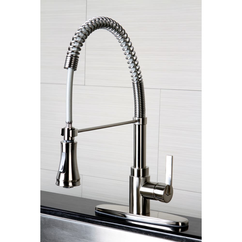pre-rinse kitchen faucet types