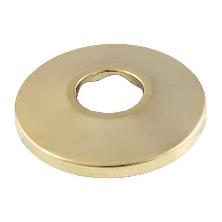 "Kingston Brass FL482 Made To Match 1/2"" FIP Brass Flange, Polished Brass"