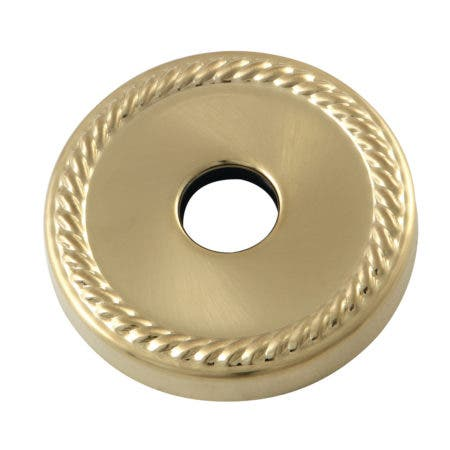Kingston Brass FLROPE7 3/4-Inch Decor Escutcheon, Brushed Brass
