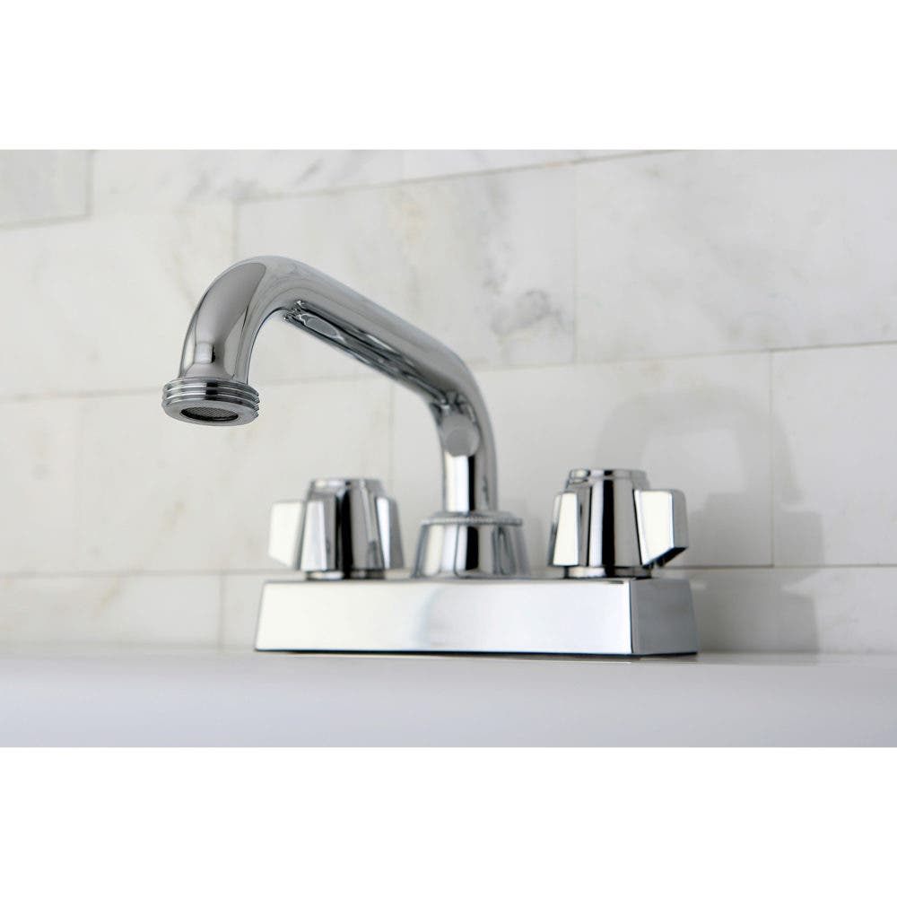 KB471 Two-Handle Laundry Faucet, Polished Chrome
