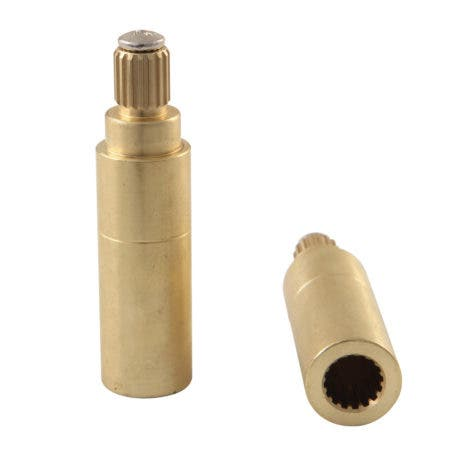 Kingston Brass KSRP7121EXT Crystal Handle Adapter for KS7121 Series Faucet