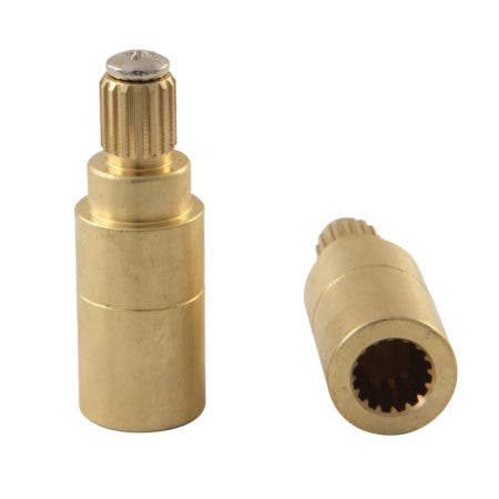 Kingston Brass KSRP7121EXTS Crystal Handle Adapter for KS7121 Series Faucet