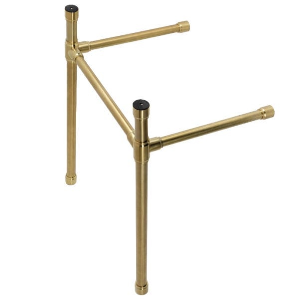 Brushed Brass Console Sink Legs