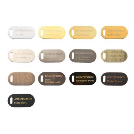 Kingston Color Finish Swatch Kit
