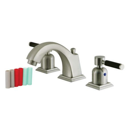 Fauceture FSC4688DKL 8 in. Widespread Bathroom Faucet, Brushed Nickel