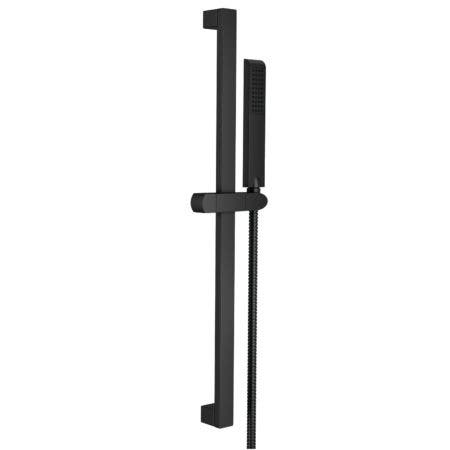 "Kingston Brass KX2540 Vilbosch 24"" Slide Bar with Hand Shower and Holder, Matte Black"