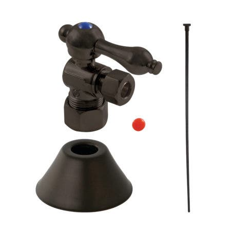 Kingston Brass CC53305TKF20 Traditional Plumbing Toilet Trim Kit, Oil Rubbed Bronze