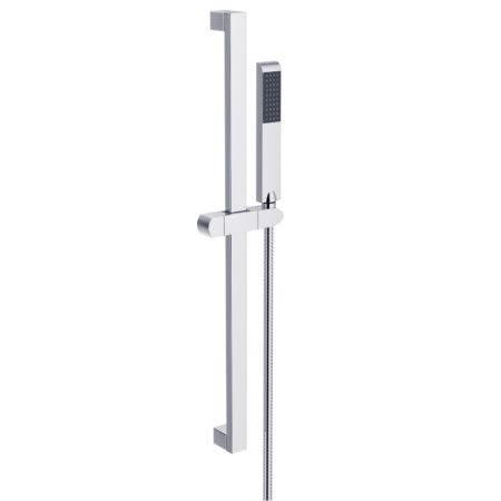 "Kingston Brass KX2541 Vilbosch 24"" Slide Bar with Hand Shower and Holder, Polished Chrome"