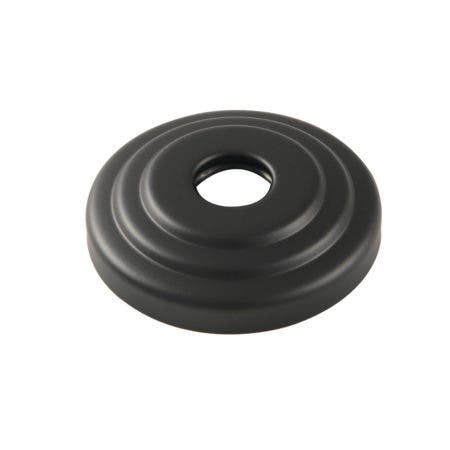 Kingston Brass FLCLASSIC0 3/4-Inch Decor Escutcheon, Matte Black