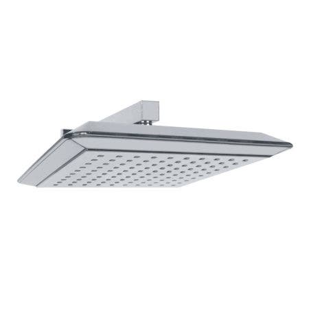 """Kingston Brass K251A1CK Claremont 9-5/8"""" Square Shower Head with Shower Arm, Polished Chrome"""