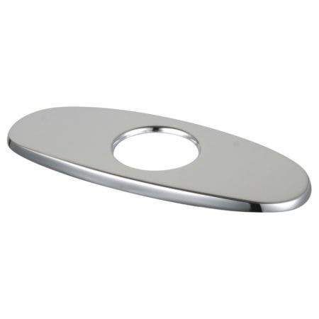 Kingston Brass LSCP8221 Fauceture Metal Faucet Hole Cover Deck Plate, Polished Chrome