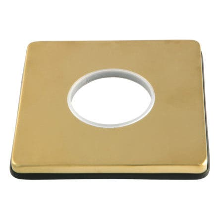 Kingston Brass KSE3047 Escutcheon Plate, Brushed Brass