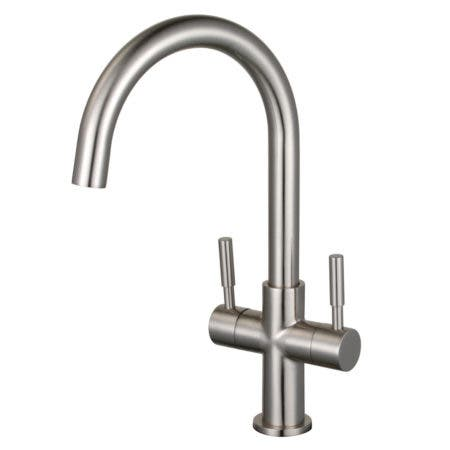 Fauceture LS8298DL Concord Two-Handle Vessel Faucet, Brushed Nickel