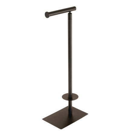 Kingston Brass CC8005 Claremont Freestanding Toilet Paper Stand, Oil Rubbed Bronze