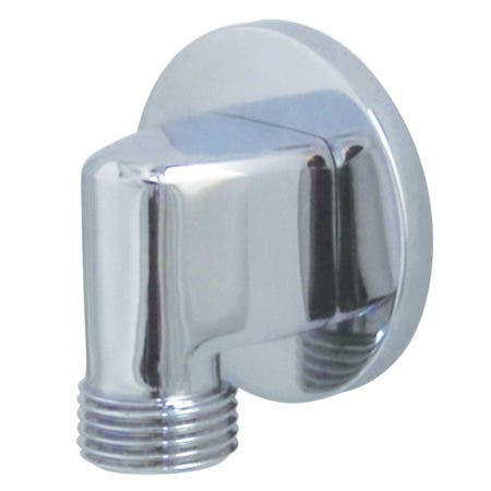 Kingston Brass K173M1 Showerscape Wall Mount Supply Elbow, Polished Chrome