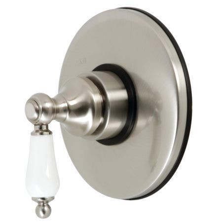 Kingston Brass KB3008PL Volume Control with Lever Handle, Brushed Nickel