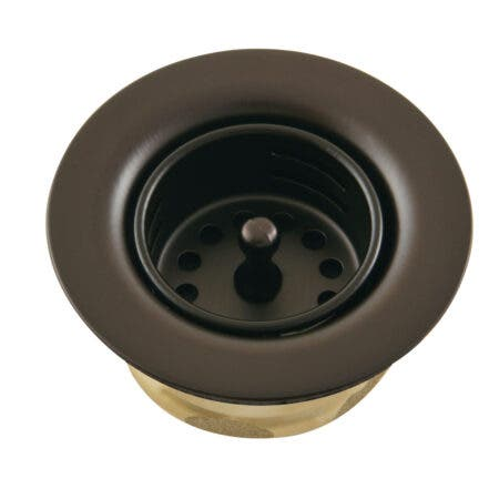 Kingston Brass K461BORB Tacoma Stainless Steel Bar Sink Duo Basket Strainer, Oil Rubbed Bronze