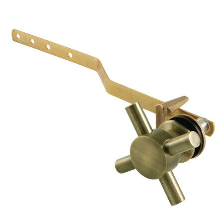 Kingston Brass KTDX3 Concord Front Mount Toilet Tank Lever, Antique Brass