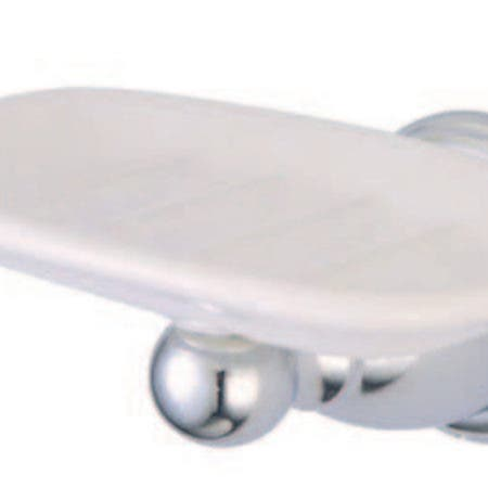 Kingston Brass BA1755C Heritage Wall-Mount Soap Dish, Polished Chrome