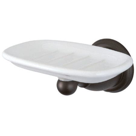 Kingston Brass BA1755ORB Heritage Wall-Mount Soap Dish, Oil Rubbed Bronze