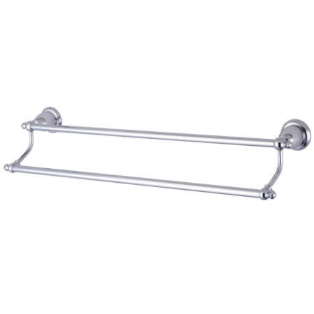 "Kingston Brass BA797318C English Vintage 18"" Dual Towel Bar, Polished Chrome"