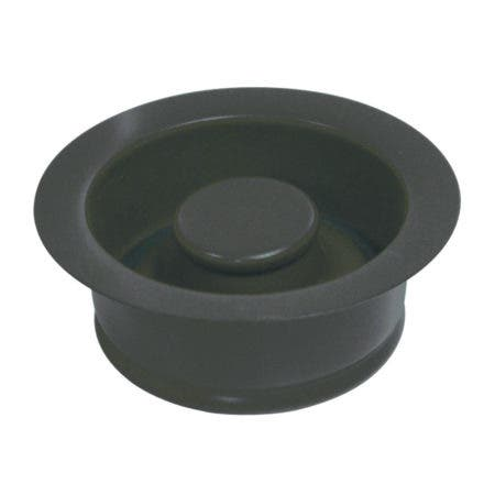 Kingston Brass BS3000 Water Onyx Garbage Disposal Flange, Black Stainless Steel