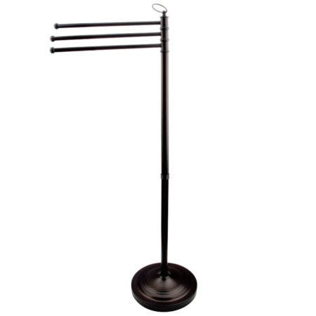Kingston Brass CC2025 Pedestal Towel Bar, Oil Rubbed Bronze