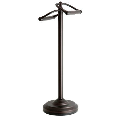 Kingston Brass CC2205 Vintage Freestanding Toilet Paper Stand, Oil Rubbed Bronze