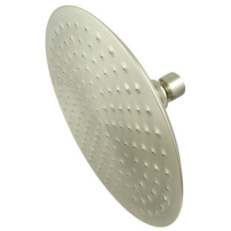 "Kingston Brass CK136A8 Victorian 8"" Diameter Brass Showerhead in Retail Packaging, Brushed Nickel"