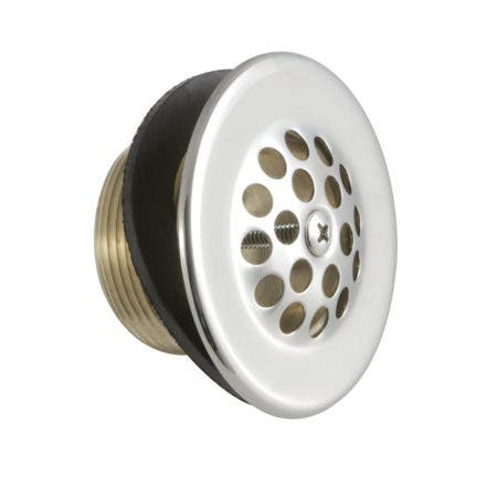 Kingston Brass DTL206 Tub Drain Strainer and Grid, Polished Nickel
