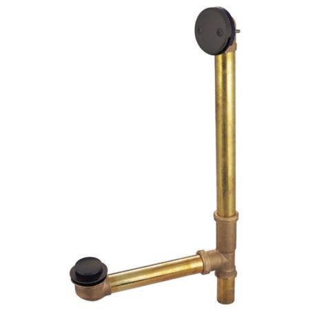 Kingston Brass DTT2165 Kingston Brass DTT2165 16-Inch Tub Waste and Overflow with Drain, Oil Rubbed Bronze