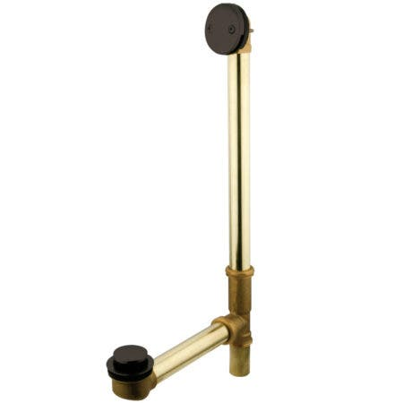 "Kingston Brass DTT2185 18"" Tub Waste & Overflow with TIP"