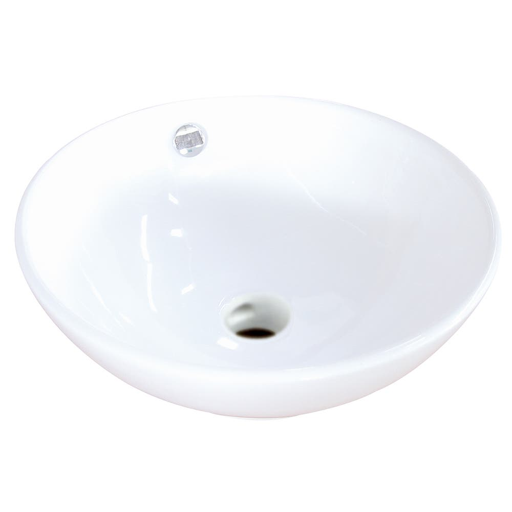 Fauceture EV4129 Perfection Vessel Sink, White