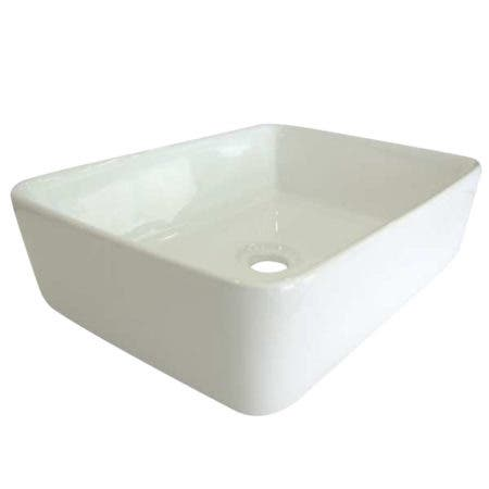 Fauceture EV5102 French Petite Vessel Sink, White