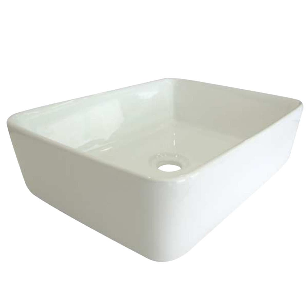 Fauceture EV5102 French Vessel Sink, White