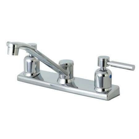 Kingston Brass FB121DL Concord 8-Inch Centerset Kitchen Faucet without Sprayer, Polished Chrome