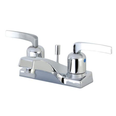 Kingston Brass FB201EFL 4 in. Centerset Bathroom Faucet, Polished Chrome